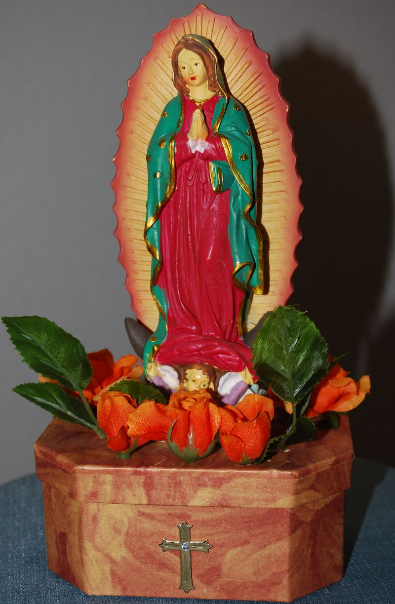 Guadlupe Prayer Box
