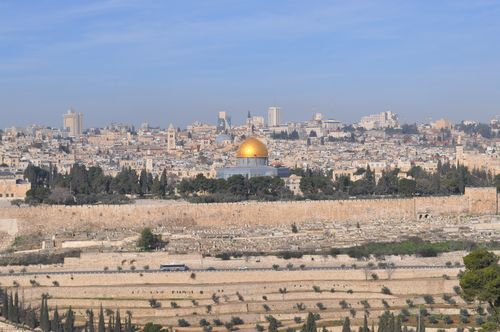 DSC_0278 - Old Jerusalem and the Temple Mount from a distance
