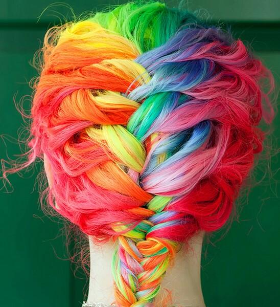 Rainbow hairstyle_BonjoueLife