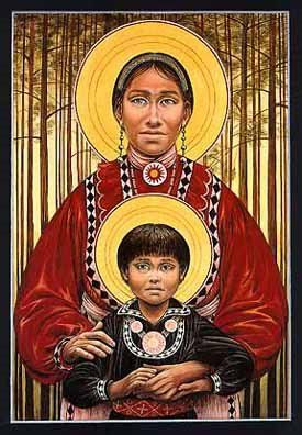 Choctaw mother child