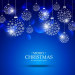 Blue-background-of-christmas-ball-made-of-snowflakes_1017-5339
