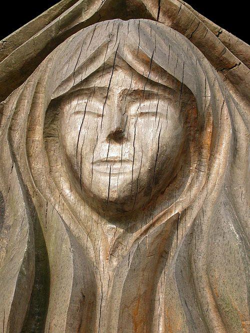 13 Wooden statue
