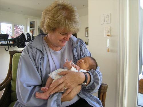 Grandma and Fritz