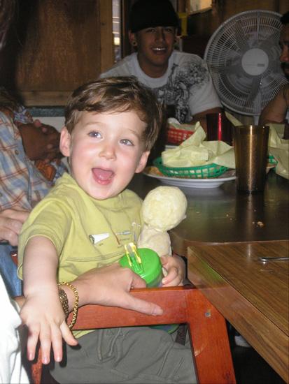 Henry at El Indio